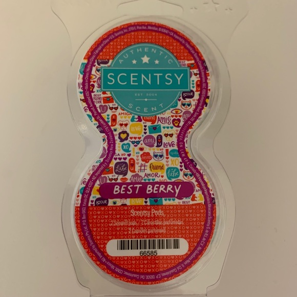 Scentsy Best Berry Pod twin pack